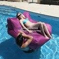 Фиолетовый открытый мешок фасоли воды поплавок мебель  2 в 1 useExtra большой размер погремушка диван сиденье-прочный и стойкие к цвету стулья