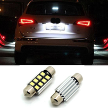 2x CANBUS 36mm C5W LED Number Plate License Light Bulb For Audi A3 A4 8P B5 B6 A6 4B 4F A8 8L D2 TT Q3 Q5 Q7 C7 C6 C5 S4 S2 A2