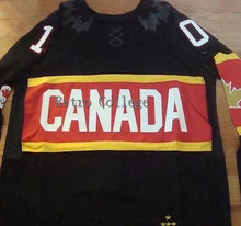Embroidery stitching retro throwback #10 PATRICK SHARP Team Canada Hockey jersey Customize any size player name number(China)