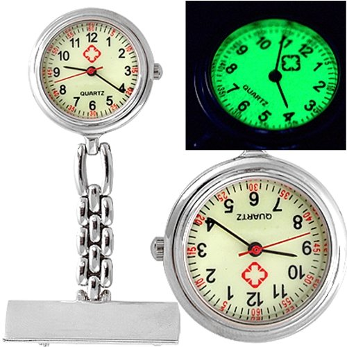YCYS-Nurse Doctor Brooch Pocket Fob Pendant Quartz Watch
