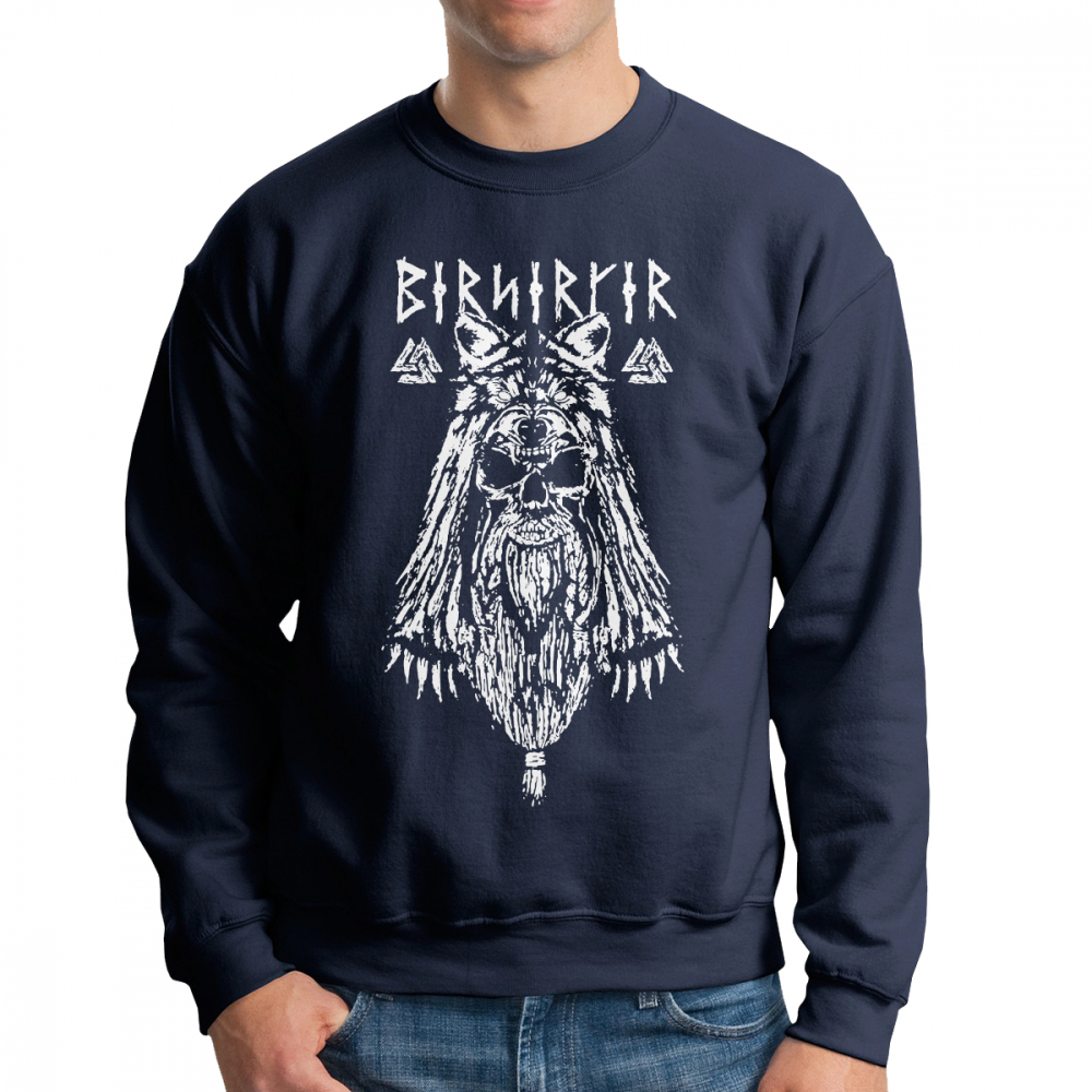 b972e8b1 Men's Viking Berserker Hoodies Popular Sweatshirt 100% Organic Cotton  Printed Pullovers Apparel
