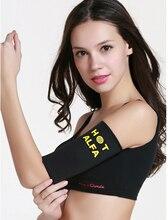 1Pair Women Sauna Arm Slimming Slimmer Sleeve Wraps Weight Loss Arm Shaper Lift Shaper Massage Arm