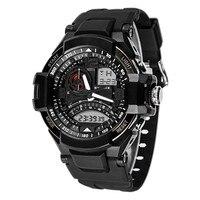 2016 New Multi Function Military Digital LED Quartz Sports Wrist Watch Waterproof Men Watches Wholesale Free