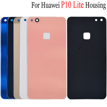 For Huawei P10 Lite Back Glass Battery Cover Rear Door Housing Case For Huawei P10 lite Back Battery