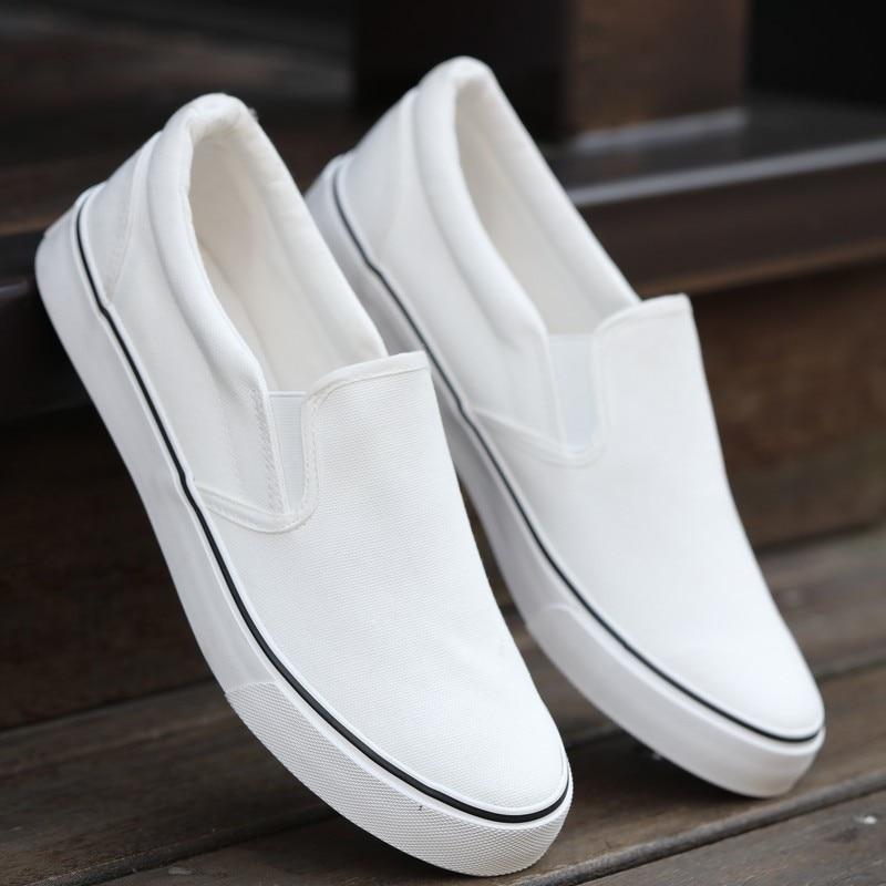 Men Flats Shoes Casual Summer Espadrilles Slip On Canvas Shoes Men Loafers Boat Shoes Breathable White Men Shoes 6h85 2018 summer fashion men canvas shoes espadrilles men casual shoes slip on breathable loafers men flats shoe zapatos hombre