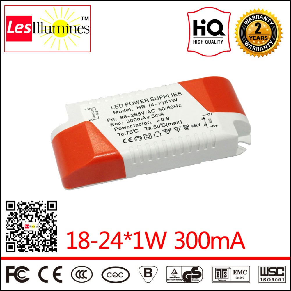 LED Panel Light Driver Transformer CE ROHS Approval AC90-265V to DC55-90V 300mA 18-24*1W LED Power Supply for LED Ceiling Light high quality waterproof led driver transformer ce rohs approval ac90 265v to dc20 36v 4500ma 150w led highbay light power supply