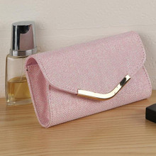 Ulrica Mint Ladies Upscale Evening Party Small Clutch Bag Banquet Purse Handbag Pink Gold luxury handbags