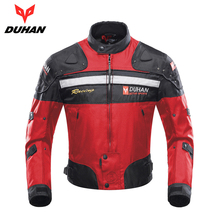 DUHAN Motorcycle Jacket Motorbike Racing Jacket Moto Windproof Autumn Winter Motorcycle Protection Clothing Body Protector Armor duhan motorcycle racing jackets body armor protective moto jacket motocross off road dirt bike riding windproof jaqueta clothing