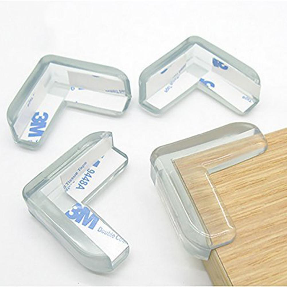 12 PCS Angles Protectors, Transparent Baby Safety Anti-Shock Corner Protector For Tables And All Furniture Pointed, Soft Corner