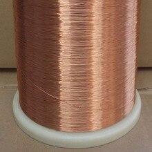 0.41 mm New polyurethane enameled round copper wire QA-1-155 2UEW  1 meter