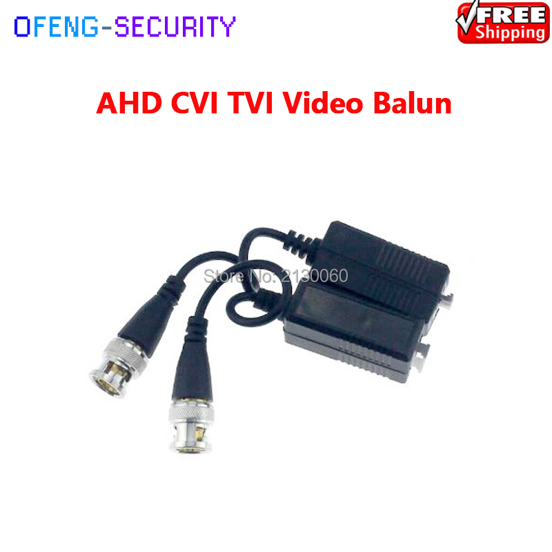 Video Balun RJ45 Single Video Balun Twisted-pair Transmission CCTV Camera Solution Single Video Over CAT5/5E/6 Cable