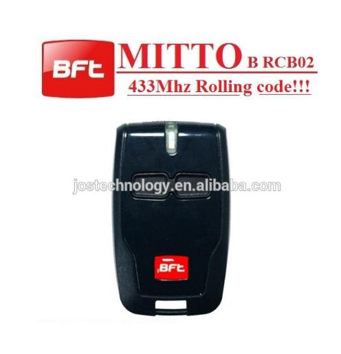 FOR BFT mitto replacement remote control free shipping rolling code 433mhz high quality bft mitto2 mitto4 remote control raplacement 433mhz rolling code dhl free shipping