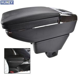 Arm Rest For Suzuki Sx4 2007-2013 Center Centre Console Storage Box Armrest Rotatable 2008 2009 2010 2011 2012(China)