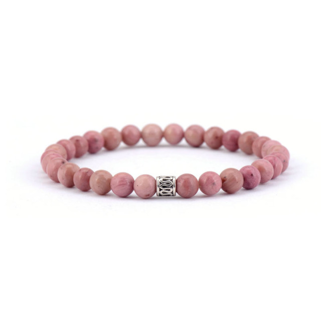 Bracelet De Quartz Rose Amour