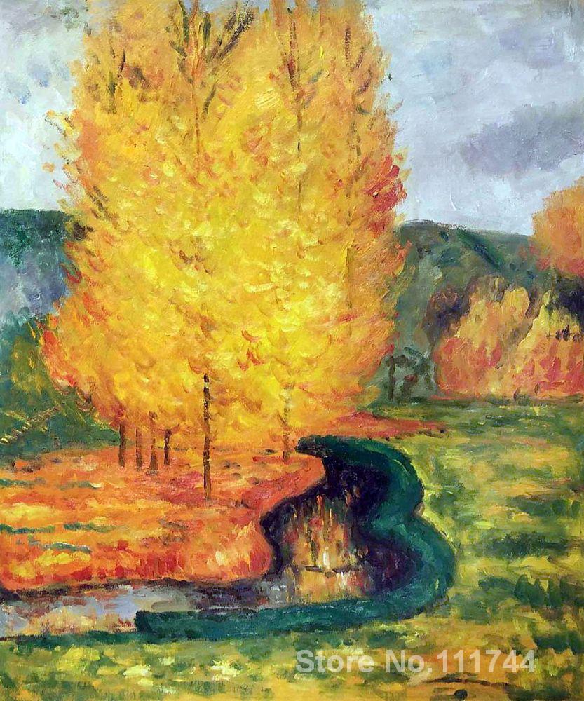 ᗐguzel Manzara Tarafindan Akisi Sonbahar Paul Gauguin Boyama Icin