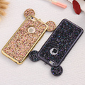 Bonito que bling paillettes case para apple iphone 6 6 s 6 plus 6 s mais capa brilho de lantejoulas mickey ouvido casos tampa do telefone para o iphone 6