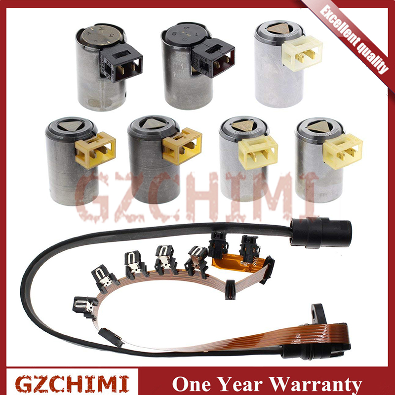 Master Transmission Solenoid Kit Ribbon Style Harness O1M For VW Audi 095 096 01M 1990+