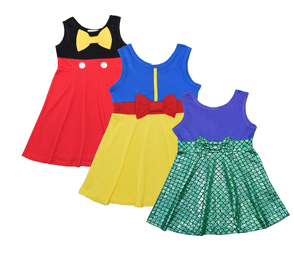 the little mermaid tail princess ariel font b dress b font cosplay costume kids for girl