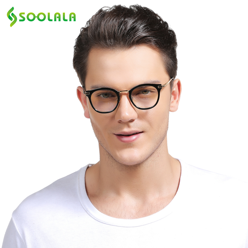 d406729bfd SOOLALA Oversized Wood Bamboo Frame Mens Reading Glasses Full Rimmed Ladies  Presbyopia Reading Glass Eyeglasses ...