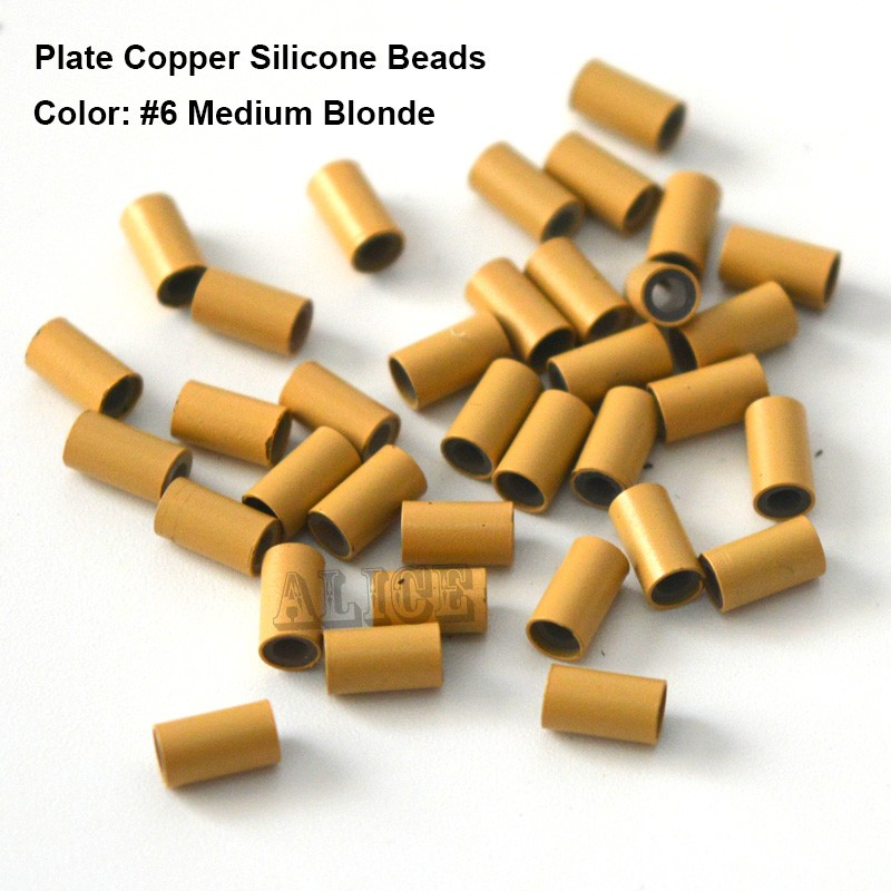 1000pcs 3.2 * 2.0 * 3.8mm Мыс силиконнан - Шаш күтімі және сәндеу - фото 6
