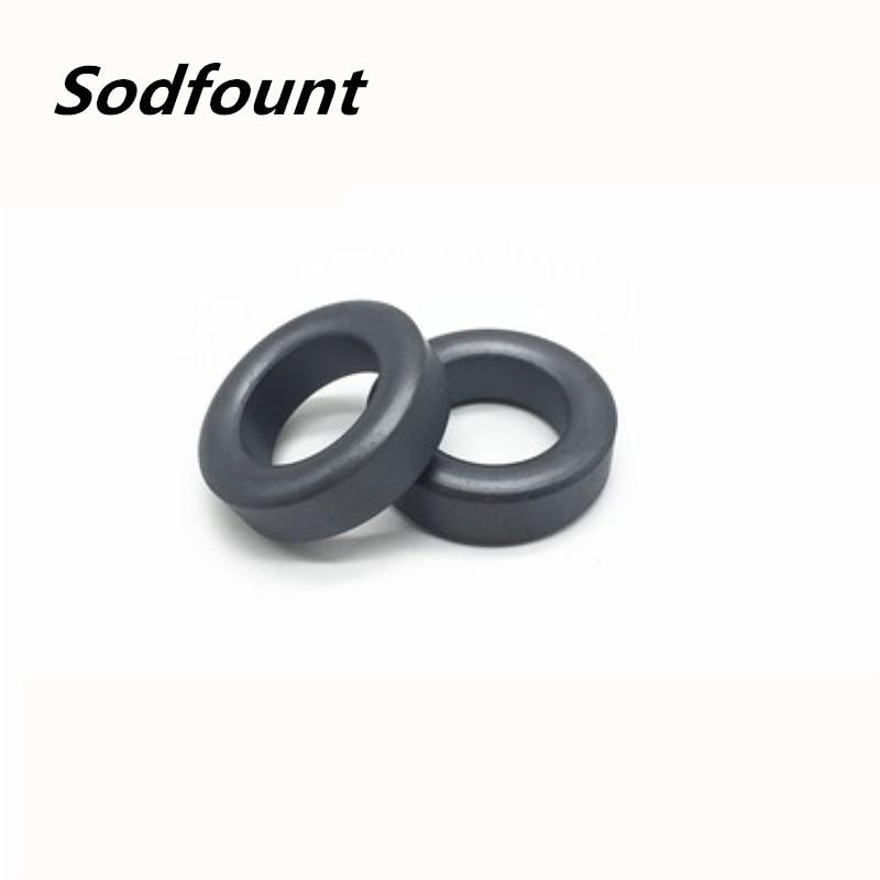 20 шт ферритовый сердечник EMI фильтр 7,6X3,5X4,7 мм Ферритовое кольцо антипаразитный тороид тороидальный шарик катушка ферритов подавление железа