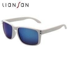cd91b308902e2 LianSan Polarized Sunglasses Women Men Vintage PC Frame Luxury Lens LSP0709