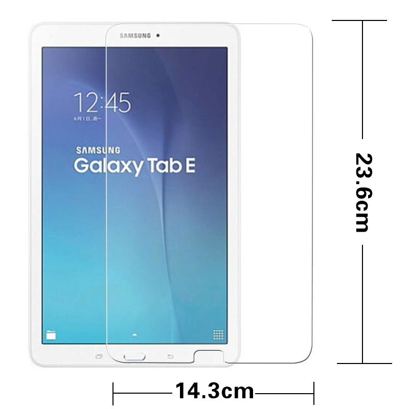 """Genuine Tempered Glass Screen Protector For Samsung Galaxy Tab E SM-T560 9.6/"""""""