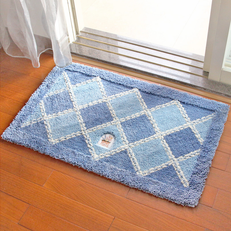Flocage tapis maison toilette maison salle de bain tapis entrée porche porte d'entrée tapis absorbants