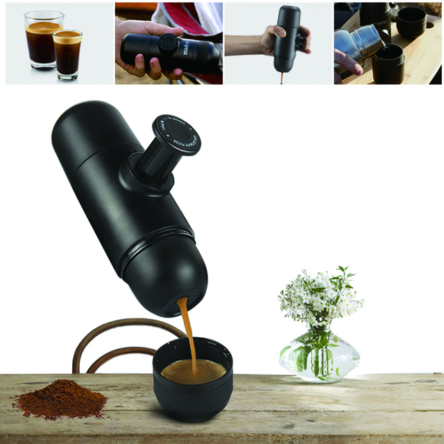 Mini Espresso Coffee Maker – Portable Espresso Machine