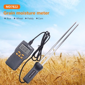 Image 2 - MD7822 Digital Grain Moisture Meter Food Thermometer Humidity Hygrometer Analyzer water Damp Detector Tester