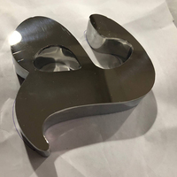 Customed Stainless Steel Letter Sign Metal 3D Letter Sign