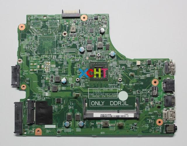 עבור Dell Inspiron 3541 HMH2G 0HMH2G CN 0HMH2G 13283 1 PWB: XY1KC REV: a00 w E1 6010 מעבד מחשב נייד האם Mainboard נבדק