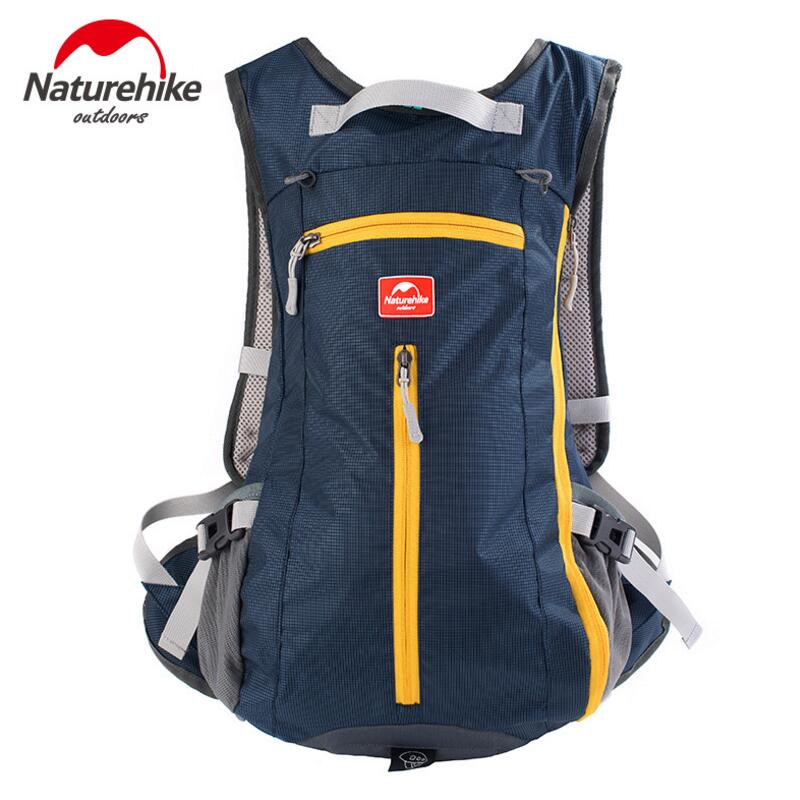 Naturehike 15L Backpack Men Women Bicycle Rucksack Mountain Bike Riding Cycling Backpack Outdoor Hiking Rucksack Sport Bag