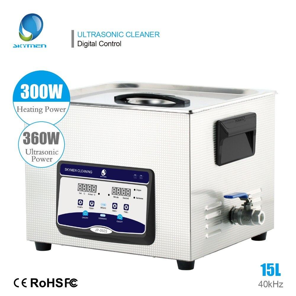 SKYMEN Pulitore Ad Ultrasuoni 15l bagno ad ultrasuoni per I Componenti Elettronici e Forniture 15l pulitore ad ultrasuoni di Promozione