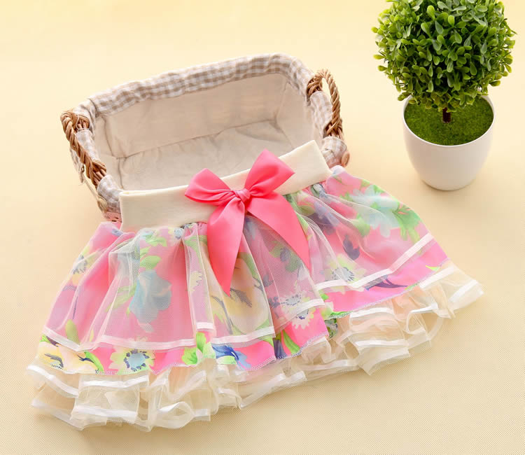 New Baby Girls Ruffle Bloomers TuTu Skirt Ball Gown Rose Red Fuffy Pettiskirt Baby Tulle Layered Children Clothing Set Outfit (16)