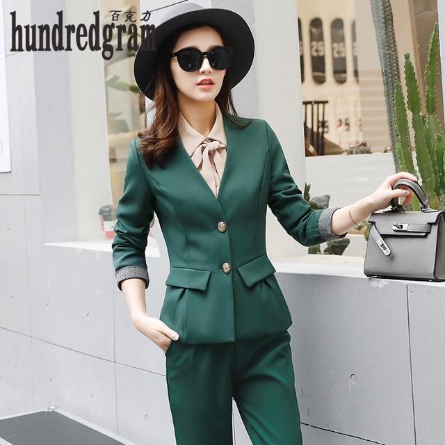 Nova moda cor sólida manga longa temperamento era magro moda terno 2017 primavera das mulheres terno terno tide-dod451