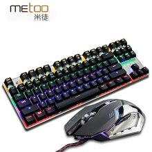 Professional LED Backlit red blue black switch font b Gaming b font Mechanical Keyboard font b