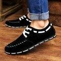 Новый 2016 Оптовые Продажи Горячих Весной новые моды для Мужчин Обувь Мужская холст обувь Повседневная Дышащей Обуви плоские туфли тенденция бренд