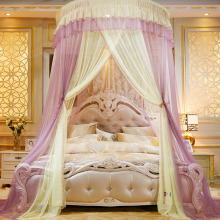 Round Dome Mesh Lace Mosquito Net Bed Canopy Bedding Netting Princess Curtain XL купить недорого в Москве