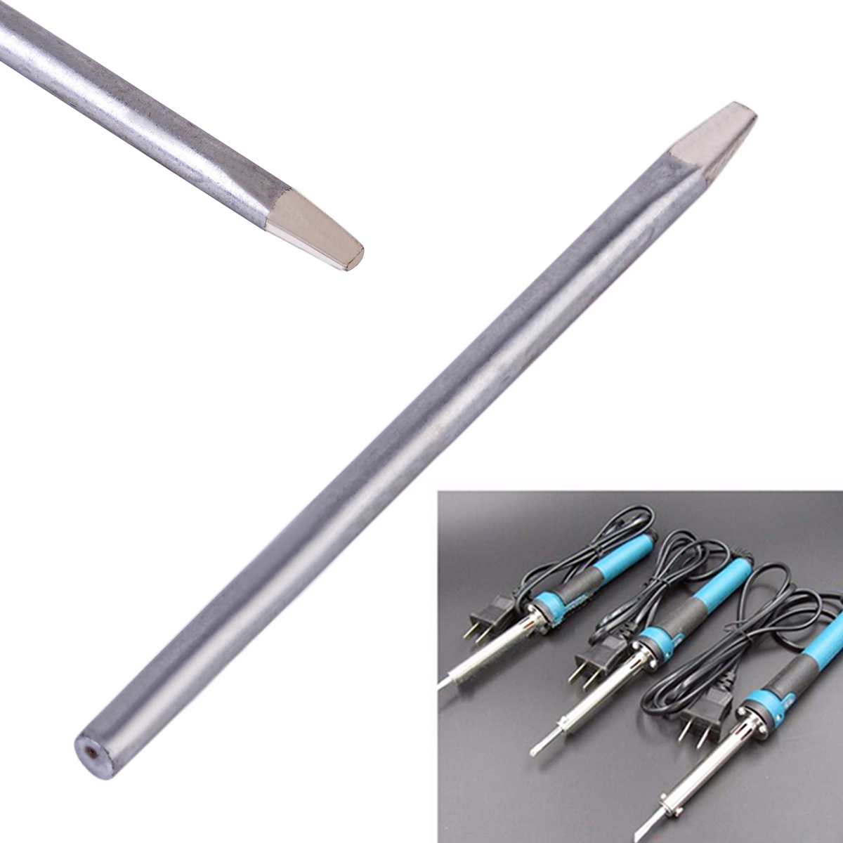 1pc 3.7mm 30W Soldering Tip Replaceable Electric Soldering Tools Iron Bit Welder Solder Tips For Power Tool 30w solder tip kit c 2b 4b d types