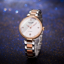 Woman Watches Nesun Japan Miyota Movement Watch Women Luxury Brand Automatic Mechanical Bracelet Watch Ladies Wristwatch N9215-1