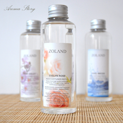Aromeasy 150ml original álcool livre fragrância óleo essencial aromaterapia difusor reed arrepenisher lavanda, rosa, oceano, bambu