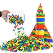 цена на 300-500pcs Building Blocks Toys Classic Bullet Magnetic Building Toy Blocks Kids Children Stitching Christmas Gift Block