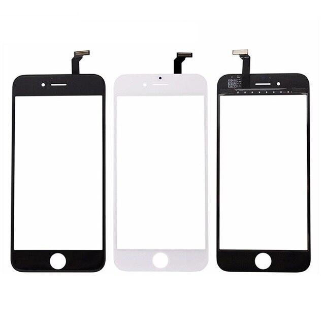 עבור iPhone 5S 5 4S 4 מגע מסך תצוגת LCD קדמי זכוכית Digitizer טלפון החלפת מסך מגע