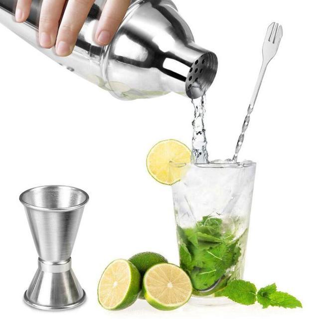 Bartender Cocktail Shaker Set