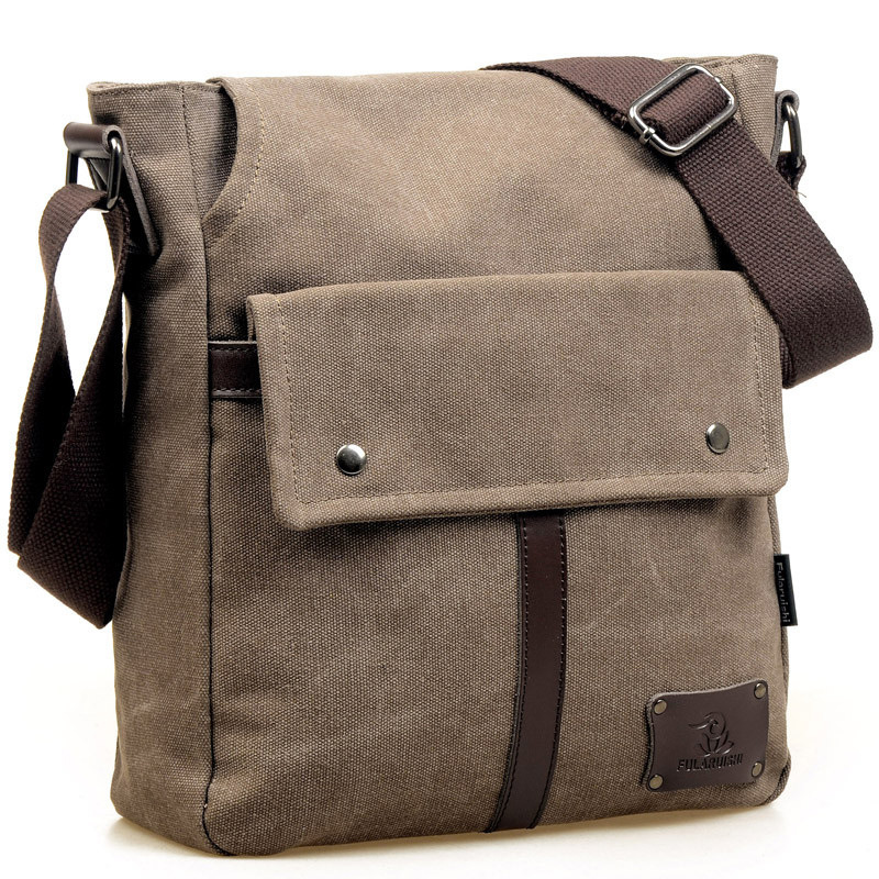 2016 Casual Men s Canvas Bags Multifunctional Men Travel Bags Men Messenger Shoulder Bags Male Satchel