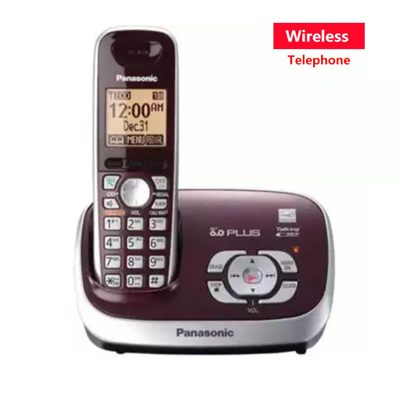 New Color Dect 6.0 Call ID Digital Cordless Phone With Answer System Wireless Base Station Cordless Fixed Telephone For Office english digital cordless phone with answer systerm call id home wireless base station cordless fixed telephone for office home