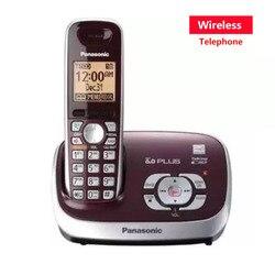 Nova cor dect 6.0 chamada id digital telefone sem fio com sistema de resposta estação base sem fio telefone fixo para escritório