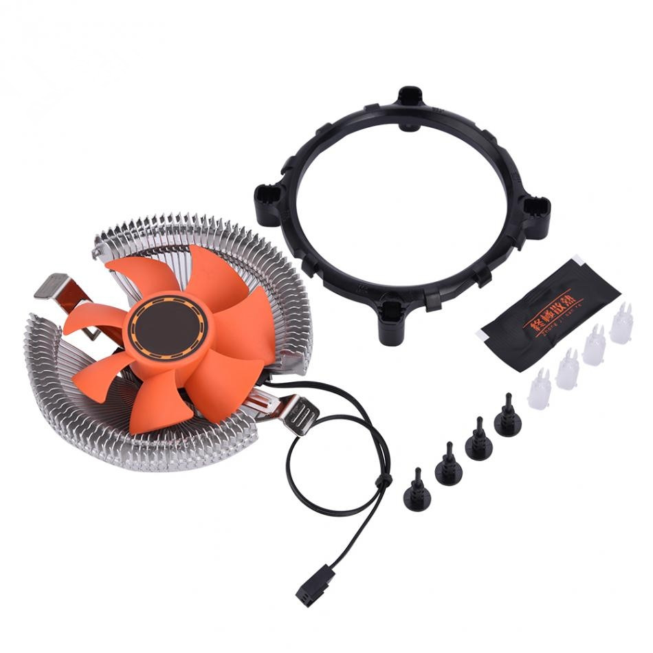 80 * 80 * 25mm 3 PIN Computer CPU Cooling Cooler Ultra-quiet Fan Heat Sink For Intel AMD Series Desktops 4pin mgt8012yr w20 graphics card fan vga cooler for xfx gts250 gs 250x ydf5 gts260 video card cooling