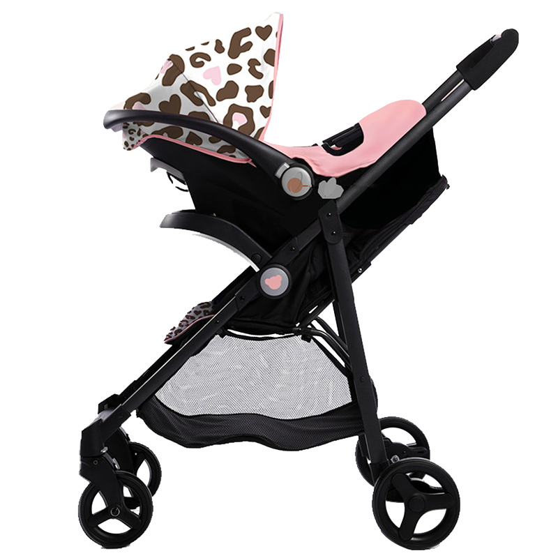 Portable Baby Stroller Lightweight 2 In 1 Stroller Two-way Folding Baby Car Super Good Q ...